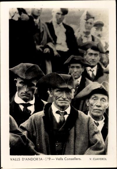 Ak Andorra, Vells Consellers, Portrait 0