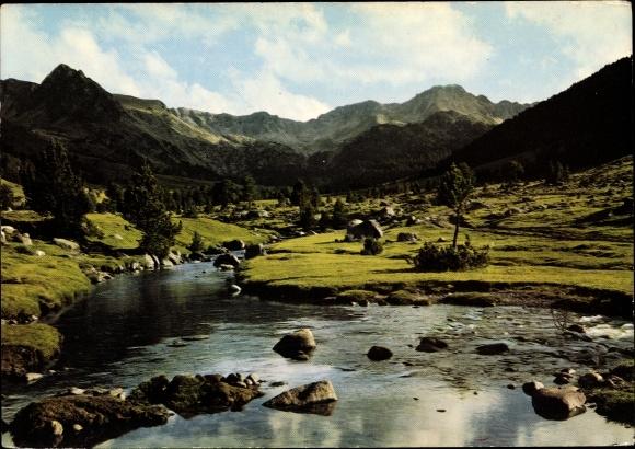 Ak Andorra, Valle d'Envalira, Cirque des Pessons, Vue générale