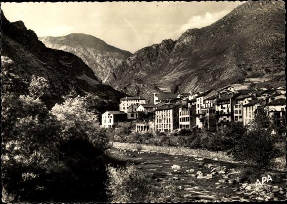 Ak Sant Julià de Lòria Andorra, Vue générale