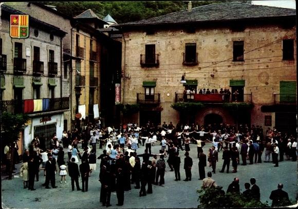 Ak Andorra la Vella Andorra, Gran Hotel, La Massana, La vella placa