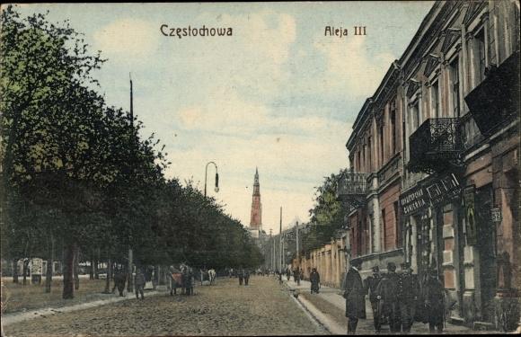 Ak Częstochowa Tschenstochau Schlesien, Aleja III