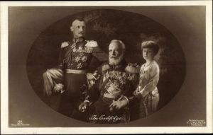 Ak In Erbfolge, König Ludwig III. von Bayern, Rupprecht, Erbprinz Luitpold