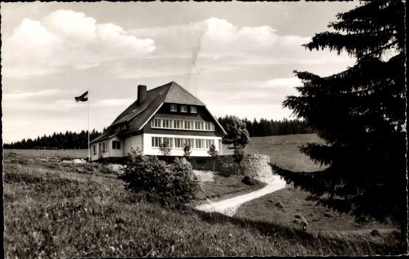 Ak Todtnau im Südschwarzwald, Jugendherberge Fleinerhaus, Todtnauberg
