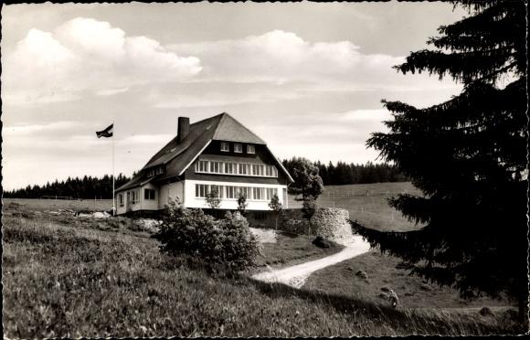 Ak Todtnau im Südschwarzwald, Jugendherberge Fleinerhaus
