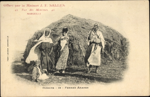 Ak Bizerte Tunesien, Femmes Arabes
