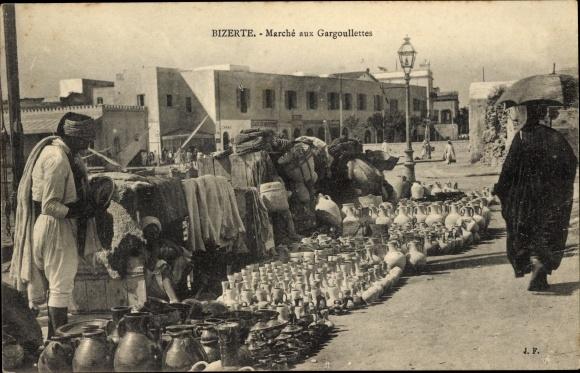 Ak Bizerte Tunesien, Marché aux Gargoullettes