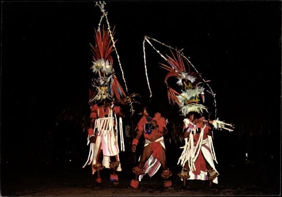 Ak Haut Itany Guyane Francaise Französisch Guayana, Dances du Maraké chez les indiens Wayana
