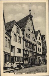 Ak Bad Münstereifel in Nordrhein Westfalen, Orchheimer Straße