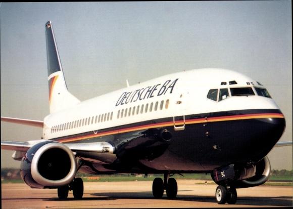 Ak Deutsche BA Boeing 737 300, Passagierflugzeug