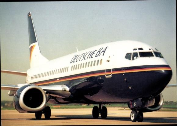 Ak Boeing 737-300, Deutsche BA, Passagierflugzeug
