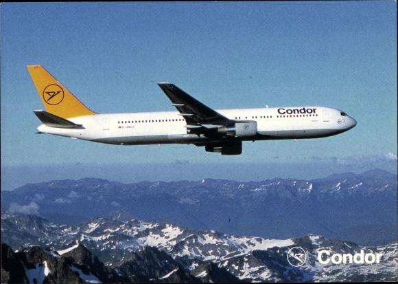 Ak Boeing 767, Condor, Passagierflugzeug