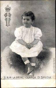 Ak La Principessa Iolanda di Savoia