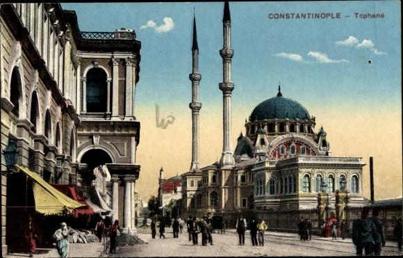 Ak Konstantinopel Istanbul Türkei, Tophané