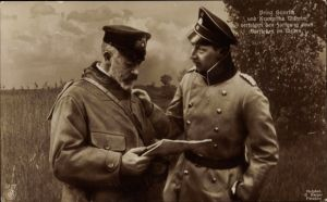 Ak Großadmiral Prinz Albert Wilhelm Heinrich von Preußen, Kronprinz Wilhelm von Preußen