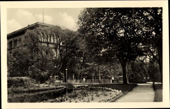 Ak Eberswalde in Brandenburg, Forstliche Hochschule