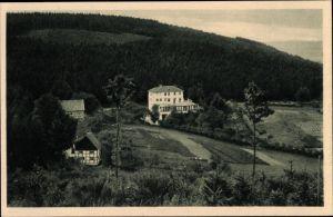 Ak Iserlohn im Märkischen Kreis, Franzosenhohl, Blick auf die Ortschaft, Waldlandschaft