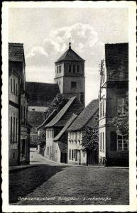 Ak Belgern Schildau Nordsachsen, Kirchstraße
