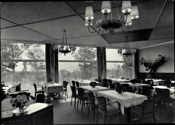 Ak Bern Stadt Schweiz, Restaurant Carreau Rouge, Kursaal