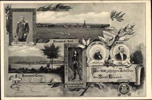Ak Neuwied in Rheinland Pfalz, 250jh Jubelfeier 1900, Friedrich Graf zu Wied
