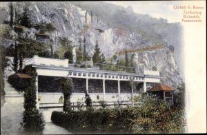 Ak Gries bei Bozen Südtirol, Erzherzog Heinrich Promenade