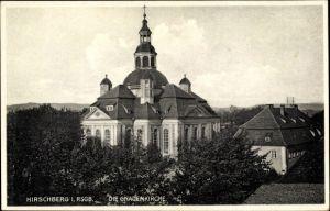 Ak Jelenia Góra Hirschberg Riesengebirge Schlesien, Gnadenkirche