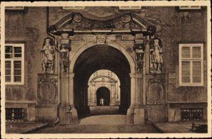 Ak Corvey Höxter in Nordrhein Westfalen, Portal der Abtei