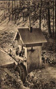 Ak Sokołowsko Görbersdorf Schlesien, Waldmühle im Büttnergrund