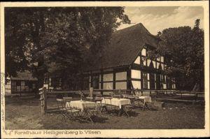 Ak Heiligenberg Bruchhausen Vilsen Landkreis Diepholz, Forsthaus Heiligenberg