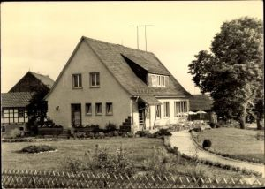 Ak Eßbach Thüringen, Konsum Landgaststätte