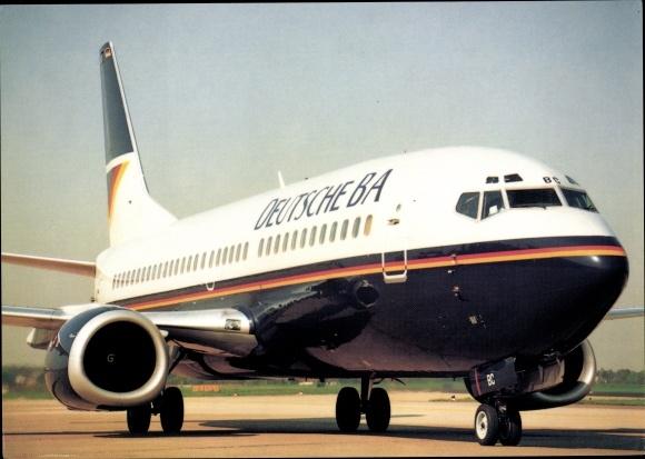 Ak Boeing 737-300, Passagierflugzeug, Deutsche BA