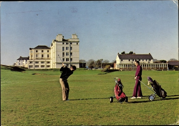 Ak Hythe Kent South East, The Golf Course, Hotel Imperial