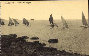 Ak Mayotte, Course de Pirogues, Segelregatta