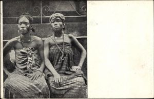 Ak Guinea, Femmes, Afrikanerinnen