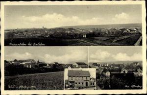 Ak Hedersleben Lutherstadt Eisleben in Sachsen Anhalt, Märzberg, Blick vom Schäfergarten