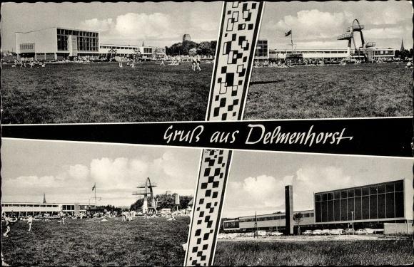 Ak Delmenhorst in Niedersachsen, Stadtbad