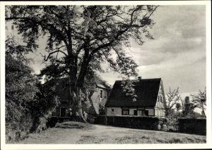Ak Dellbrück Köln Nordrhein Westfalen, Landschaftsidyll Strunder Mühlenhof