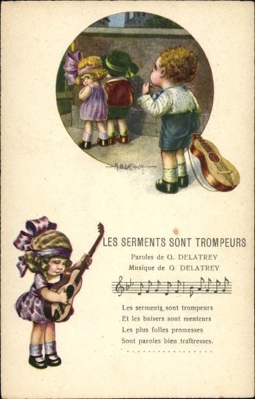 Lied Ak Bertiglia, Aurelio, Les Serments son Trompeurs, Gitarre