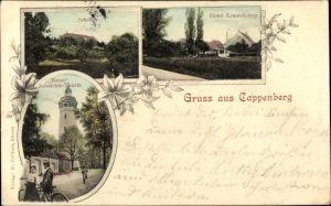 Ak Selm Cappenberg im Kreis Unna, Schloss, Aussichtsturm, Hotel Kreutzkamp