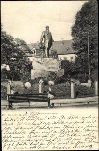 Ak Siegen in Nordrhein Westfalen, Bismarck Denkmal