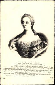 Künstler Ak Marie Thérèse d'Autriche, Maria Theresia, Erzherzogin von Österreich