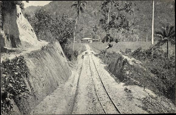 Ak Indien?, Eisenbanstrecke, Schmalspurbahn