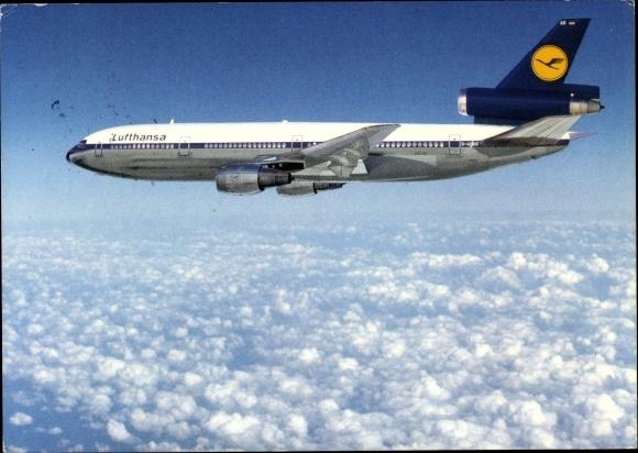 Ak McDonnell Douglas DC 10, Lufthansa, Passagierflugzeug