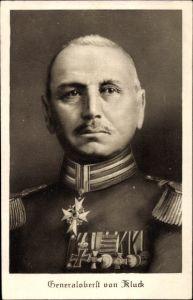 Ak Generaloberst Alexander von Kluck, Portrait