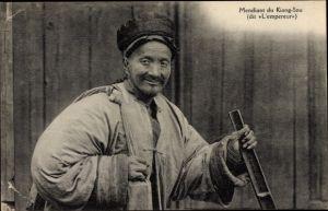 Ak Jiangsu China, Mendiant du Kiang Sou, L'empereur
