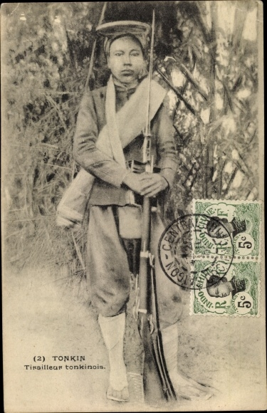 Ak Tonkin Vietnam, Tirailleur tonkinois