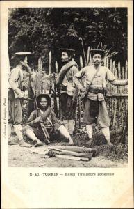 Ak Hanoi Tonkin Vietnam, Tiraulleurs Tonkinois