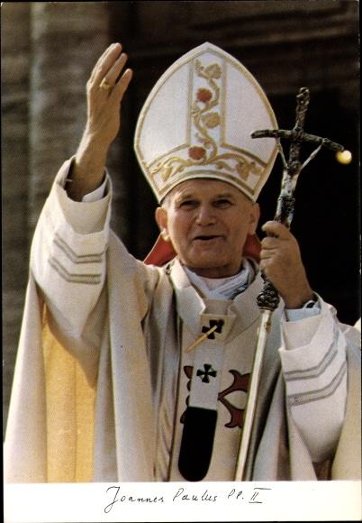 Ak Papst Johannes Paul II., Karol Józef Wojtyla