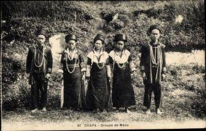 Ak Chapa Vietnam, Groupe de Meos
