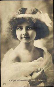 Ak Prinzessin Marie Jose von Belgien, Kinderportrait