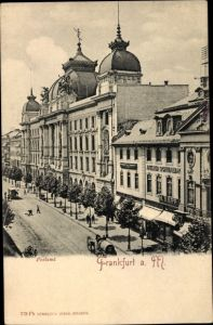 Ak Frankfurt am Main, Postamt